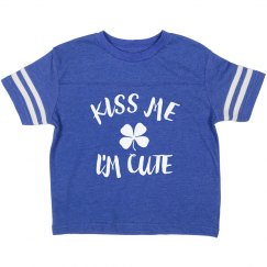 St. Patty's Kiss Me I'm Cute
