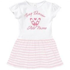 Custom Cute Kids Ballet Dancer Gift