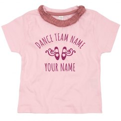 Dance Tots Ballet Custom Team Name