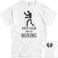 keep calm and go boxing