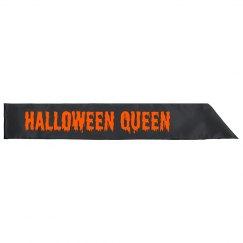Halloween Queen Party Sash
