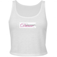 Ladies Slim Fit Crop Tank