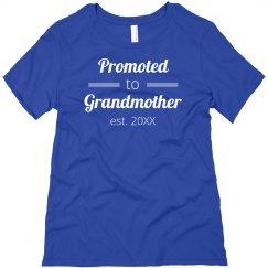 Newly Est. Grandmother Tee