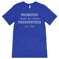 Newly Promoted Grandfather Est. Tee