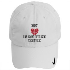 Basketball - Heart of court HAT