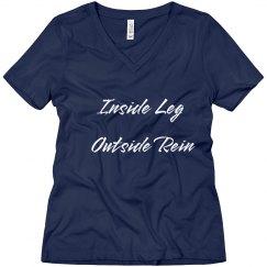 Inside leg outside rein