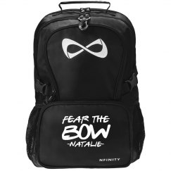 Fear the Cheer Bow Nfinity Backpack With Custom Name