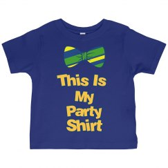 It's A Toddler Party Shirt
