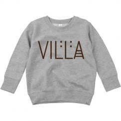 Toddler Villa Title Sweatshirt