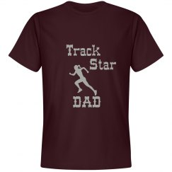 Track Star Dad Tee