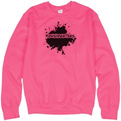 neon #busybeetees sweater