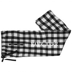 Custom Family Name Jammie Pants