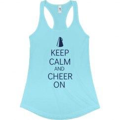 Keep Calm Cheer On