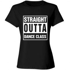 Straight Outta Dance Black