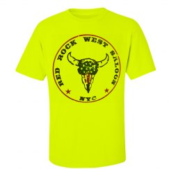 Red Rock West Saloon Unisex Neon T shirt