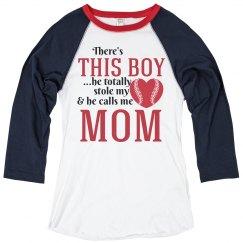 Baseball Mom He Calls Me