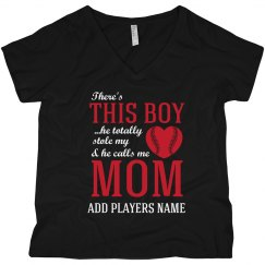 Curvy Baseball Mom Love