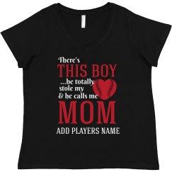 Curvy Baseball Mom Love