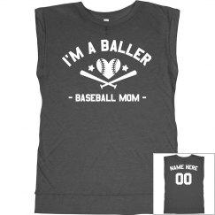 Custom Baller Baseball Mom