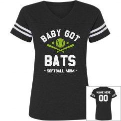 Baby Got Bats Softball Mom