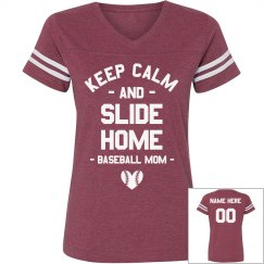 Custom Baseball Coach Mom