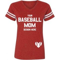 Custom Sports Baseball Mom