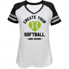 Create Your Custom Softball Mom