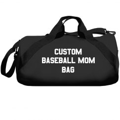 Custom Baseball Mom Bag