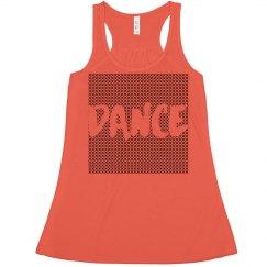 Dance X Pattern Tank