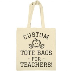 Custom Tote Teachers Gift