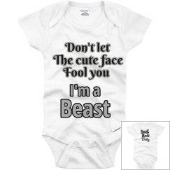 Beast Mode Baby Onesie