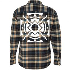 Fashion Flannel Aztec