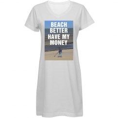 Beach Coverup My Money