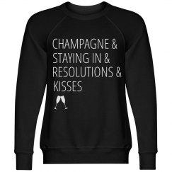 New Years Eve Sweatshirt