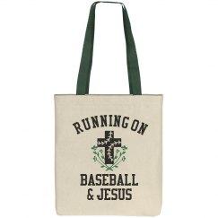 Cute Running On Baseball & Jesus