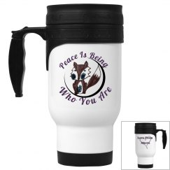 Peace fox Mug