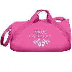 Custom Name Loves Dance Bag