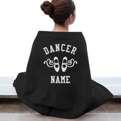 Custom Name Dancer Blanket