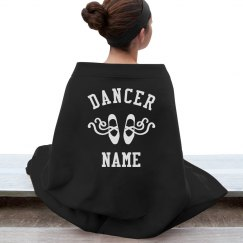 Custom Name Dancer Blanket