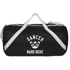 Custom Name Dance Ballet Heart
