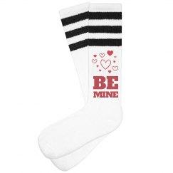 Be Mine Valentine Socks