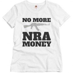 No More NRA Money Sensible Gun Law Gun Control Protest