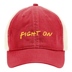 fight on hat