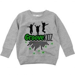 Groove Kidz  Toddler Crew Neck Sweatshirt