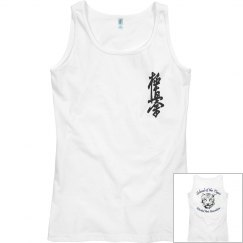 Ladies Semi-Fitted Tank with Kanji and Logo