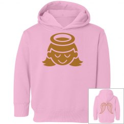 Angel Wings Toddler Girl Hoodie