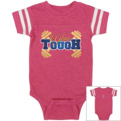 GlamTough Infant Vintage Sports Baby Onesie