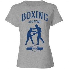 Boxing mom shirt