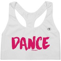 Pink DANCE Sport Bra