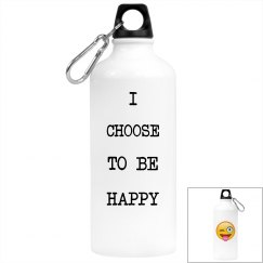 Be Happy Water Bottle
